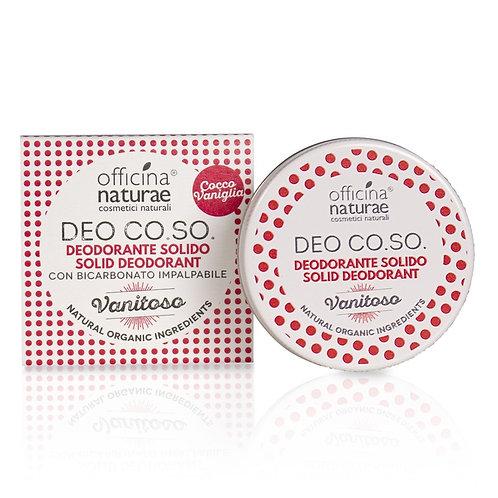 Deodorante solido vanitoso ~ Officina naturae