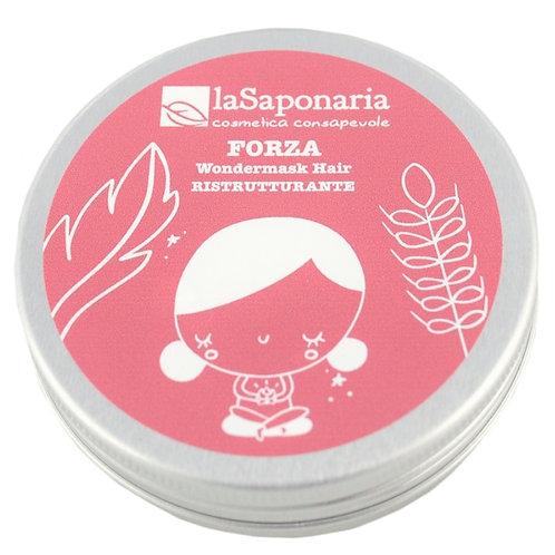 Maschera capelli Forza ~ La Saponaria