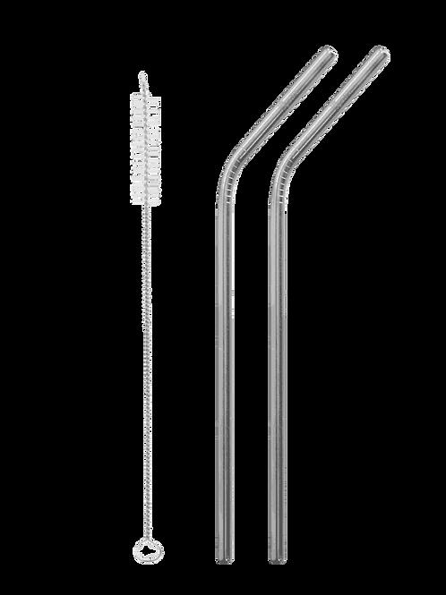 Kit 2 cannucce curve + scovolino