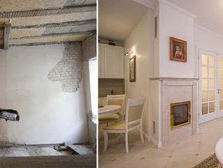 Senamiesčio buto rekonstrukcija
