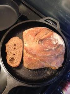 bread in combo cooker