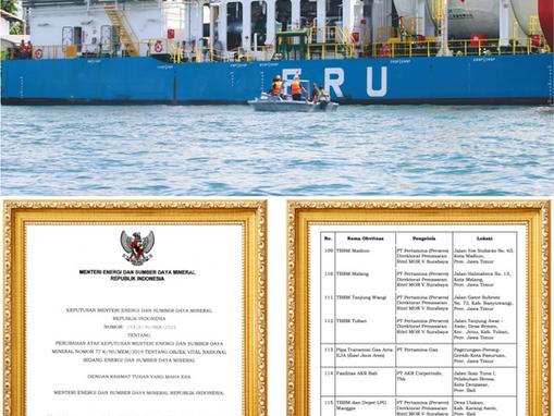 Terminal LNG Benoa Objek Vital Nasional