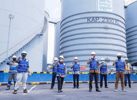KOP Tanjung Perak Kunjungi Storage Tank PEL