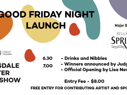 2019 Art Show Launch Event