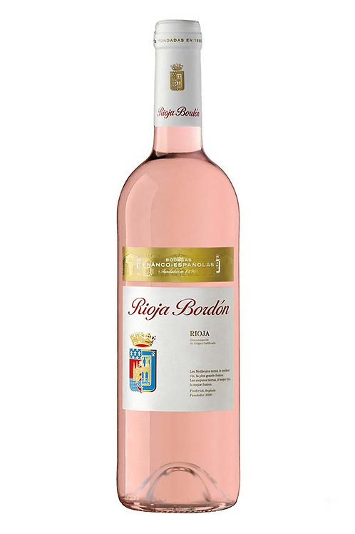 Rioja Bordon, Rosado 2019 (750ml)