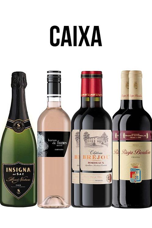 4 Grandes Vinhos. 6 garrafas.