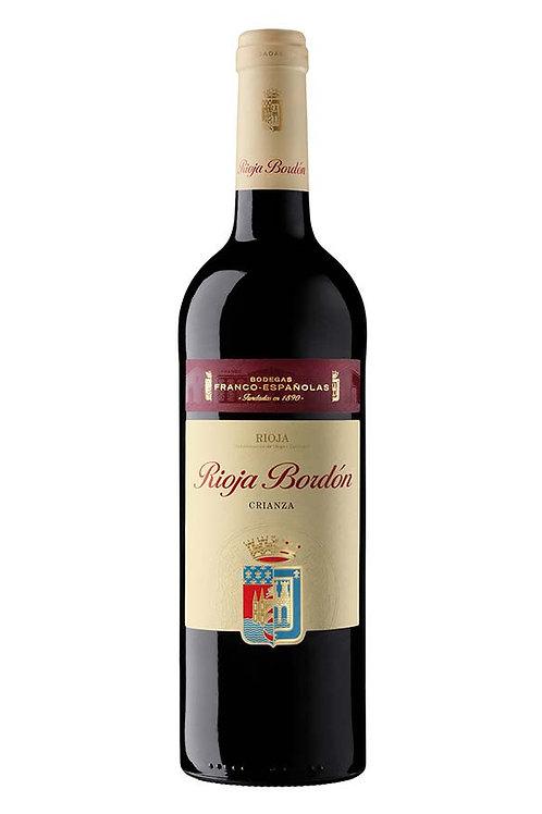 Rioja Bordon, Crianza 2017 (750ml)