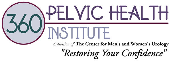 360 Pelvic Health Logo with Wording and