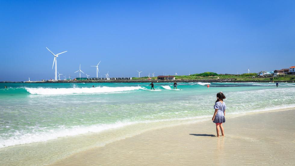 월정리해변