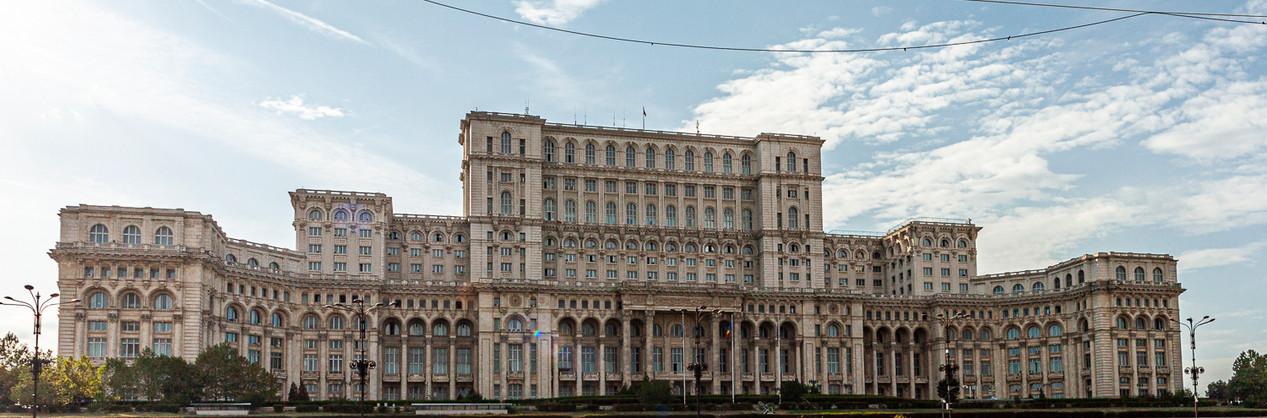 Bukarest-Regierungspalast