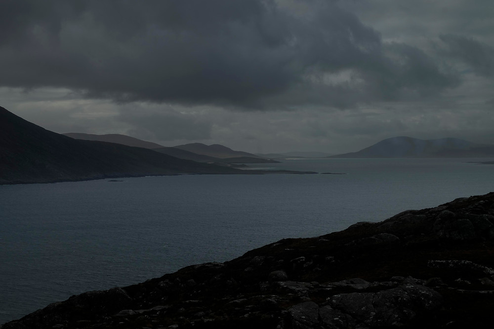 Storm on Harris on the road to Hushinish, Outer Hebrides
