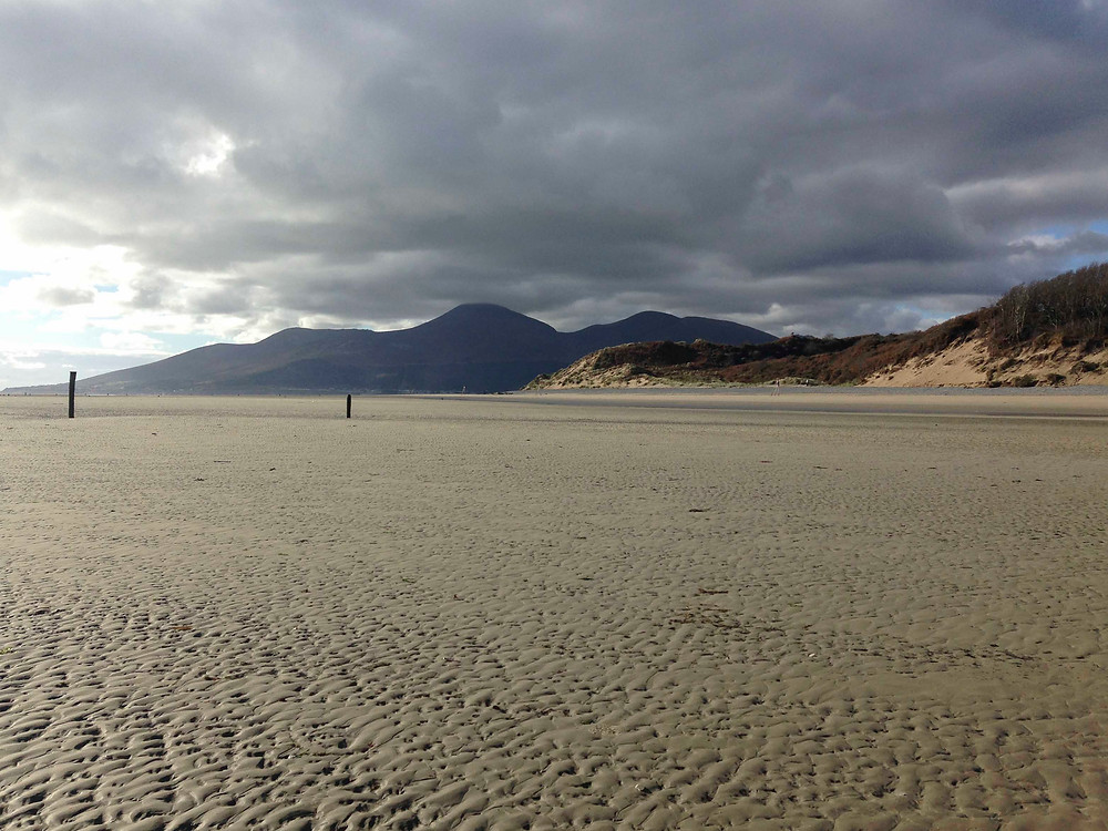 Mourne Mountains from Murlough beach