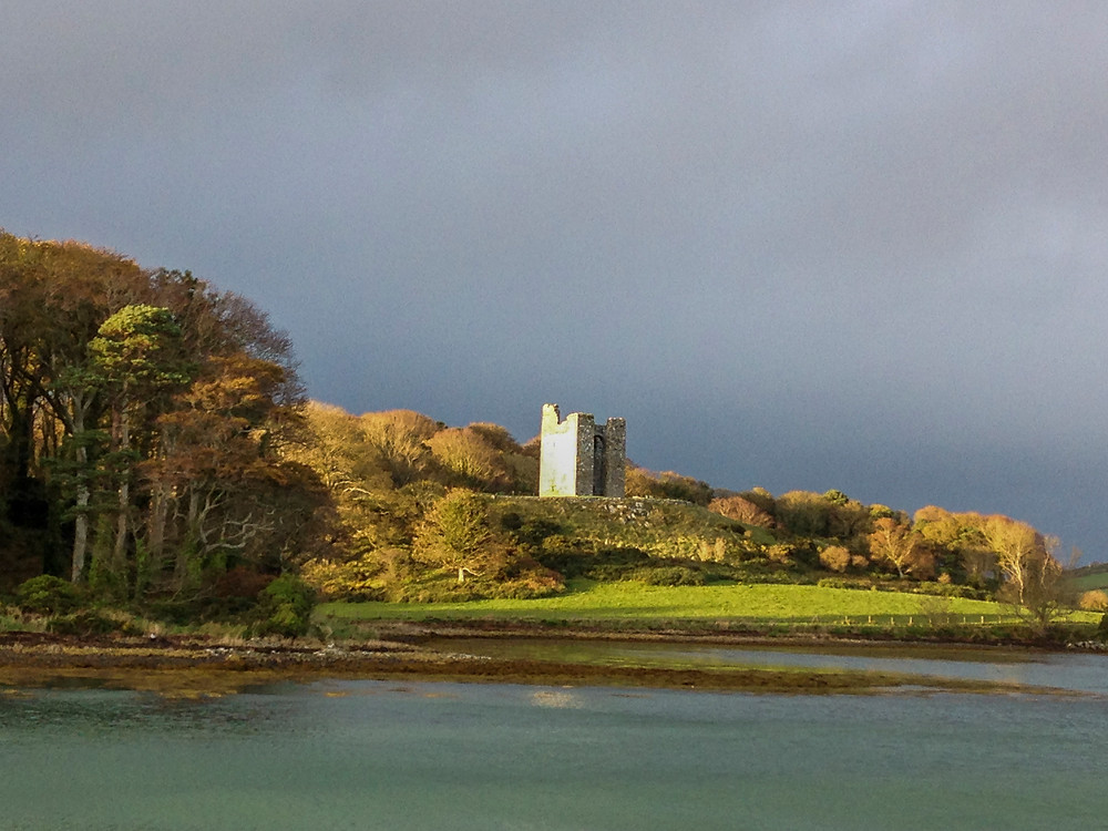 Audleys Castle, County Down, Ireland