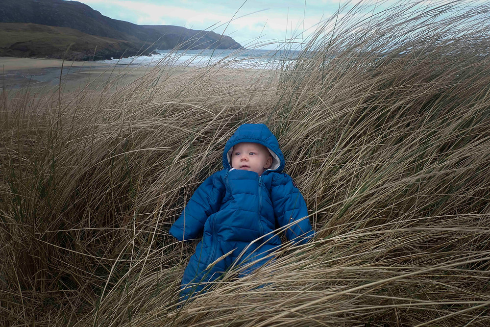 Adventures with baby in the Outer Hebrides