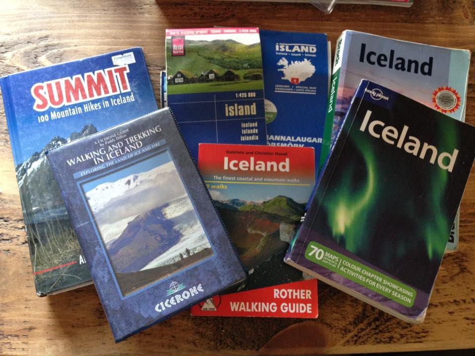 Adventure tripping with a new born - Iceland guides and maps