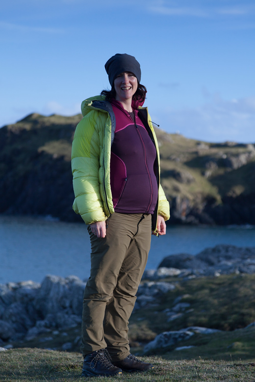 Wild camping in Scotland when pregnant
