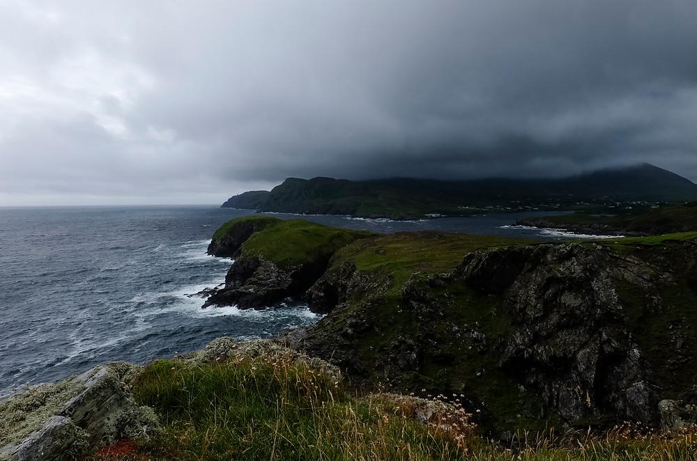Rugged Donegal coastline