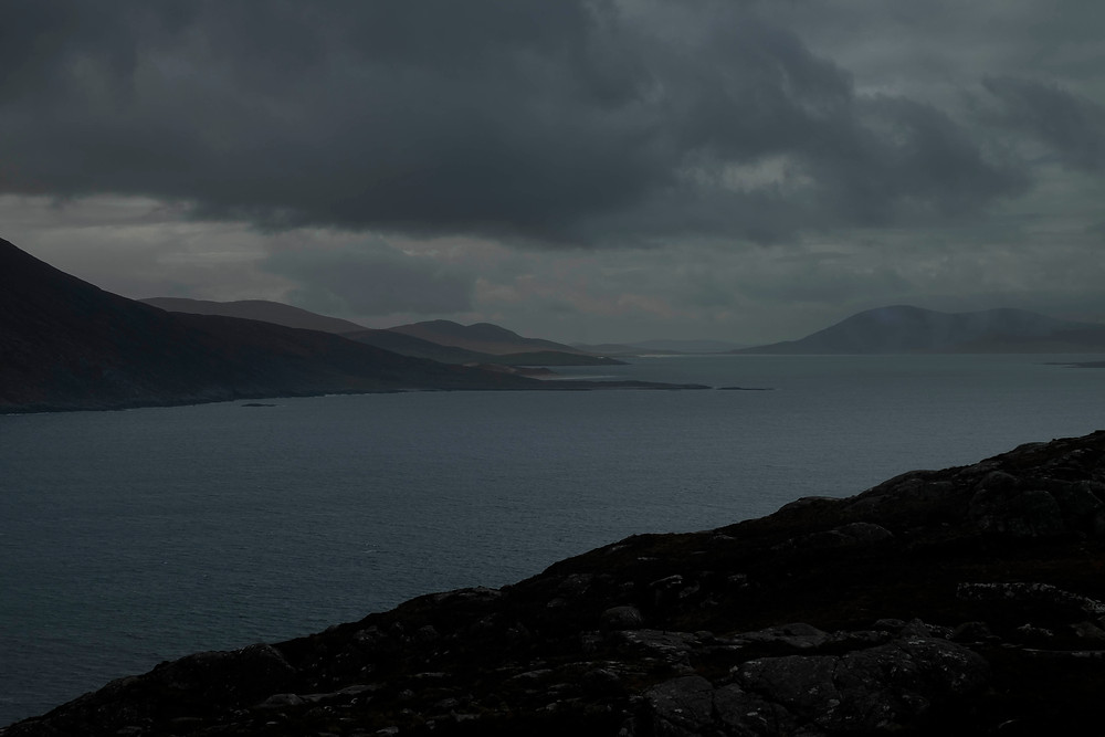 Drive out to Hushinish, Harris, Outer Hebrides
