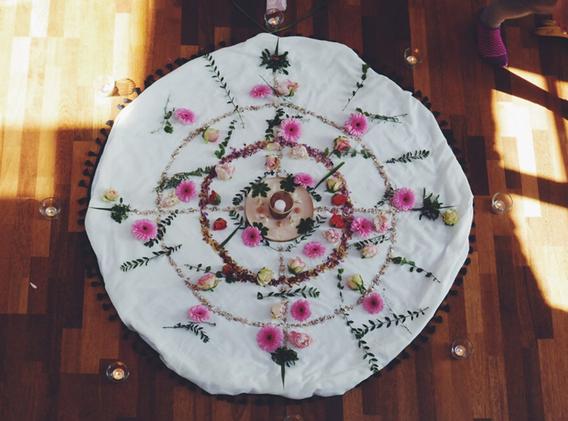 Sacred Rose Altar