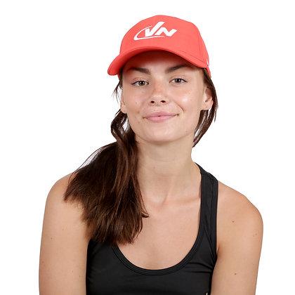 כובע אופנתי מנדף זיעה - אדום דגם 6612
