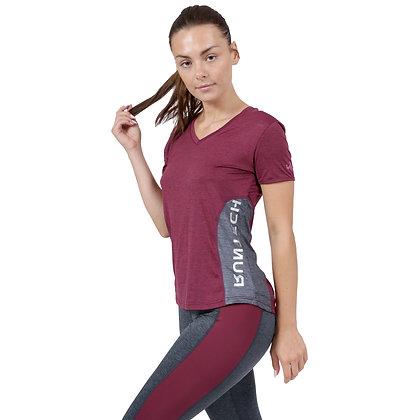 חולצה טי נשים - 881881 - סגול מלאנג