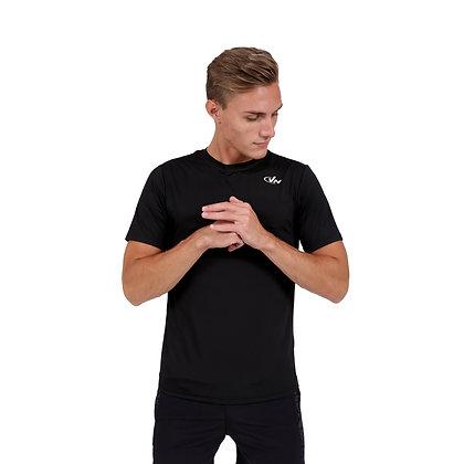 חולצת אימון מקצועית 2256 - שחור