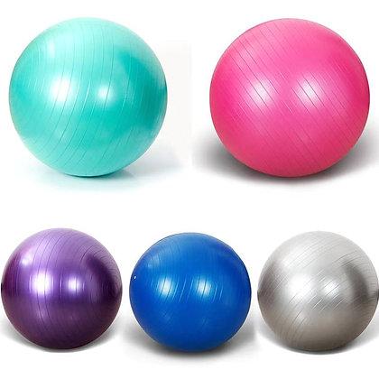 """כדור פילאטיס 65 ס""""מ + משאבה"""