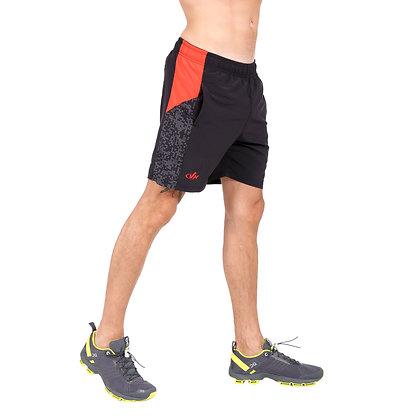 מכנס אימון + תחתון פנימי גבר - 771886 -שחור אדום