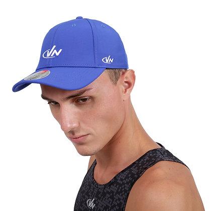 כובע אופנה - כחול דגם 6611