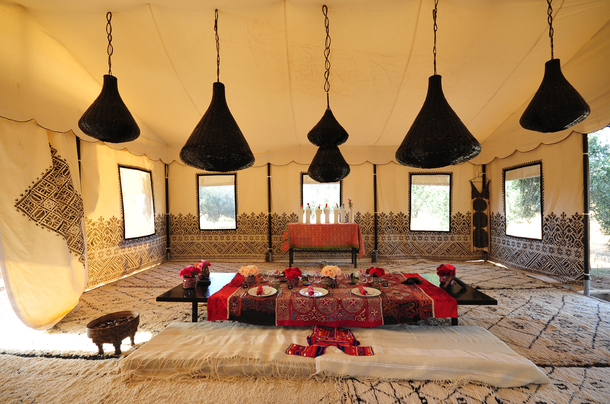 Arabian Dining Tent 2