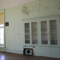 Secondary Hall - Display Case - Before