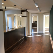 Hallway and Front Desk - After