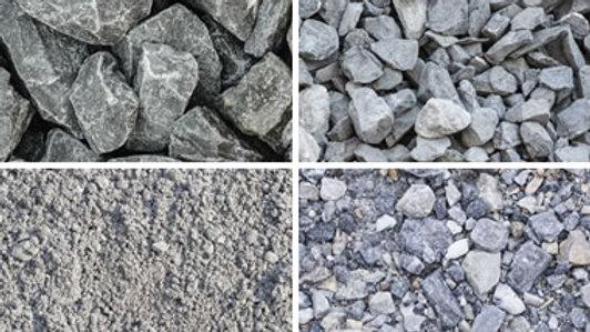Limestone Crush & Grey Limestone Rock