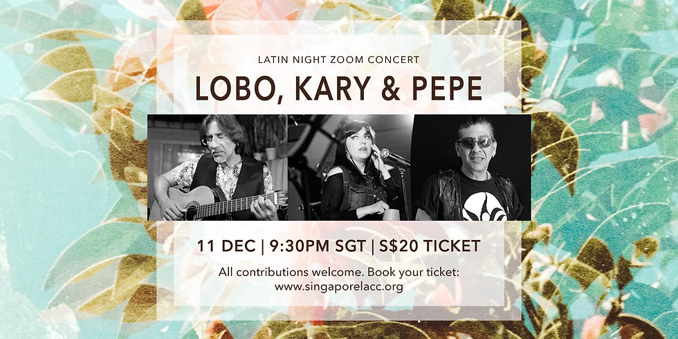 Lobo, Kary & Pepe 11 Dec