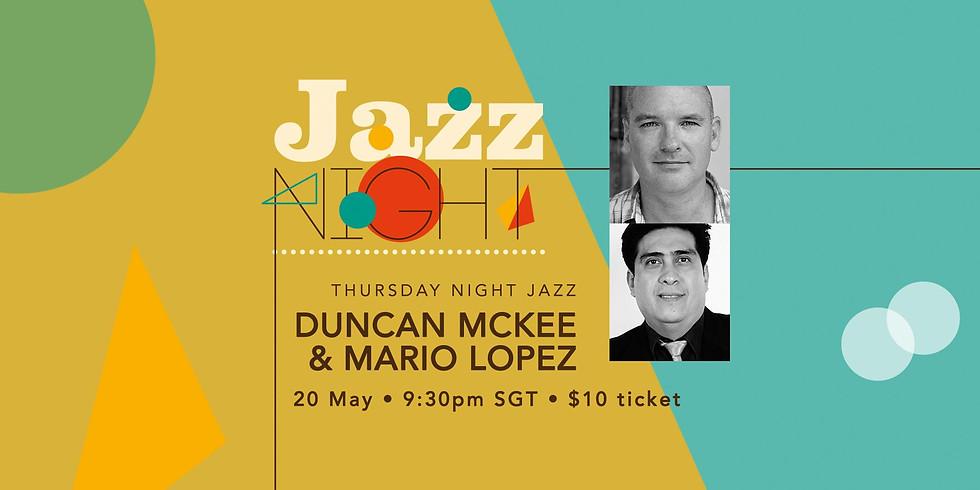Duncan & Mario 20 May
