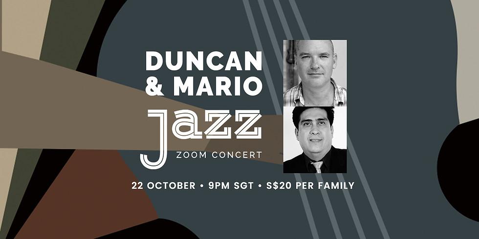 Duncan & Mario 22 Oct