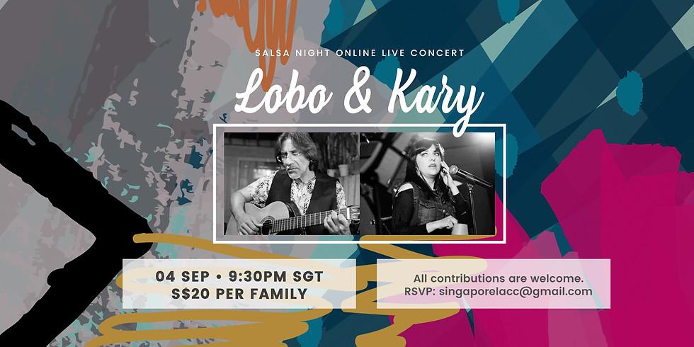 Lobo & Kary Latin Quartet from Mexico