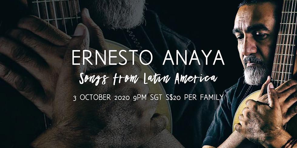 Ernesto Anaya's Songs from Latin America