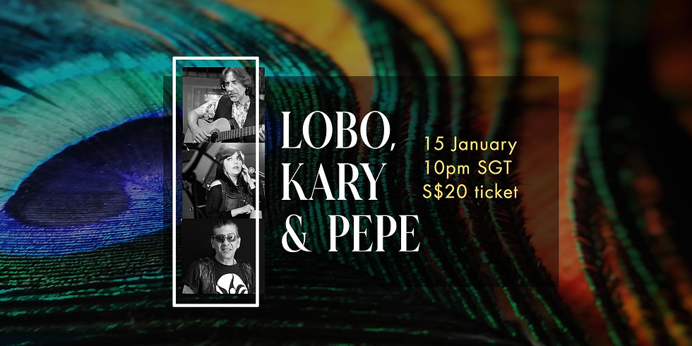 Lobo, Kary & Pepe 15 Jan