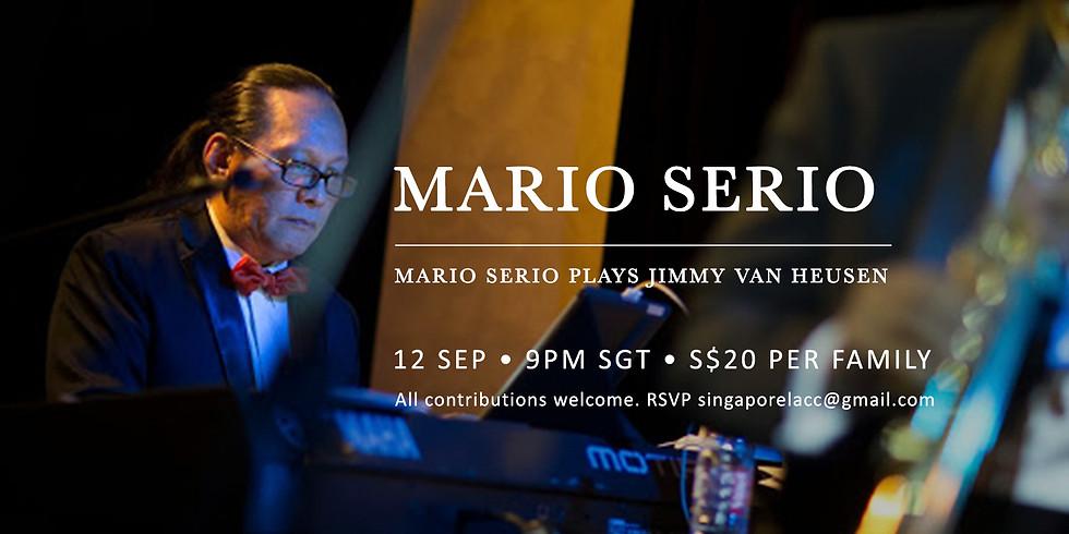 Mario Serio plays Jimmy Van Heussen