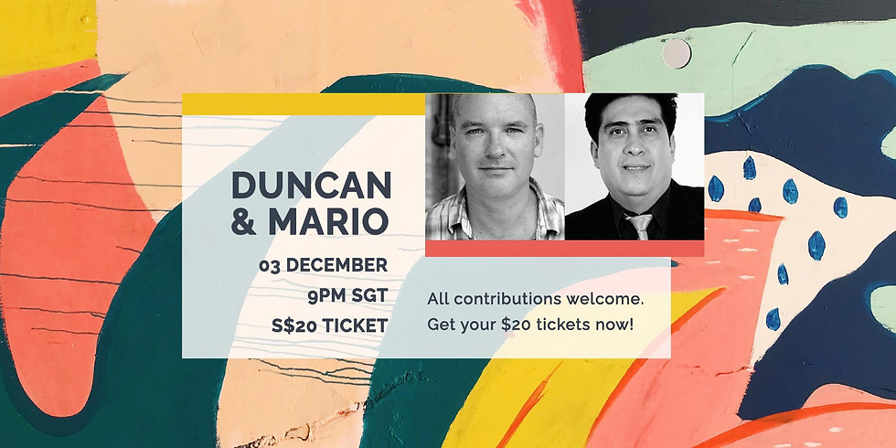 Duncan & Mario 03 Dec
