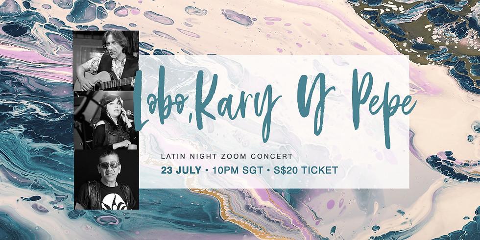 Lobo, Kary & Pepe 23 July