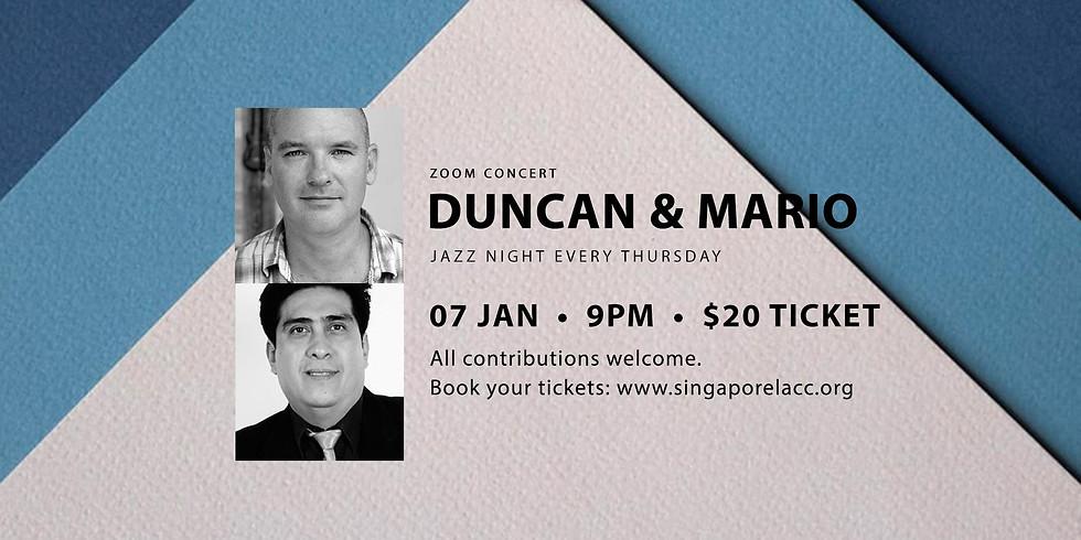 Duncan & Mario 07 Jan