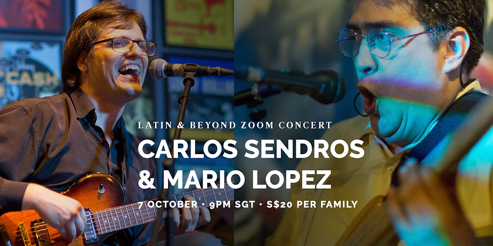 Mario Lopez & Carlos Sendros Latin & Beyond