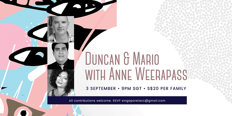 Anne Weerapass, Duncan & Mario