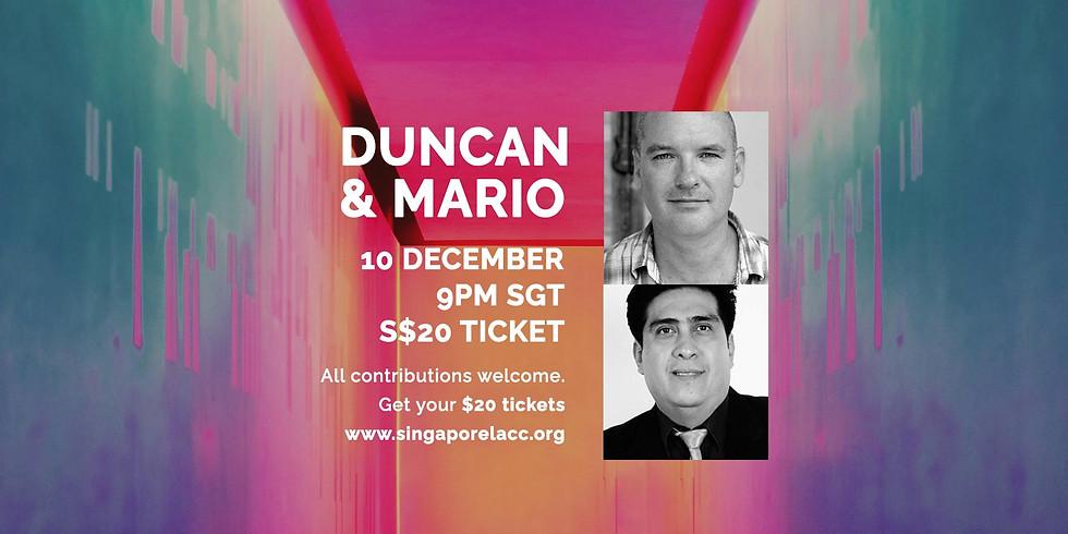 Duncan & Mario 10 Dec