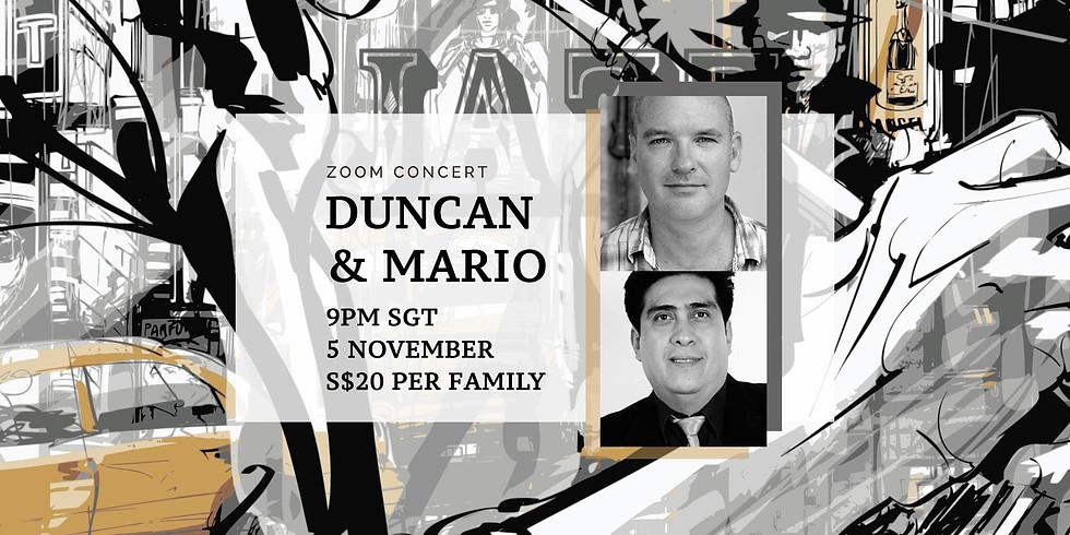 Duncan & Mario 05 Nov