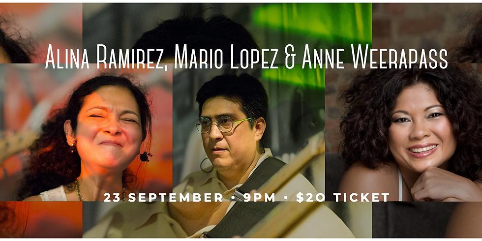 Anne Weerapass , Mario & Alina Latin Flavors