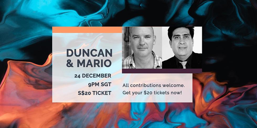 Duncan & Mario 24 Dec
