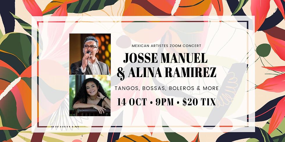 Josse Manuel  & Alina Ramirez